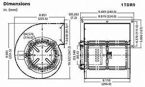 dayton 1tdr9 rectangular permanent split capacitor oem With dayton motor