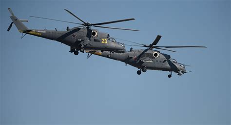 Russia to Supply 12 Mi-35M Helicopters to Nigeria by 2018