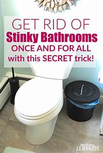 Get rid of stinky bathrooms once and for all making lemonade for How to get rid of urine smell in bathroom