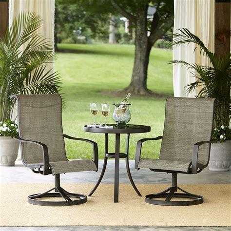 Small Patio Furniture by Garden Oasis Providence 3pcs Bistro Set Limited