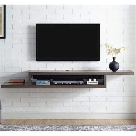 Tv Regal Wand by Best 25 Floating Shelves For Tv Ideas On