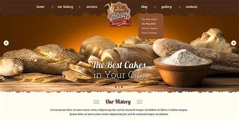 bakery bootstrap theme gridgum