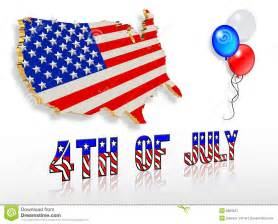 Patriotic 4th of July Clip Art