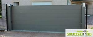 Portail Sur Mesure : lame alu pour portail gamme portails aluminium with lame ~ Melissatoandfro.com Idées de Décoration