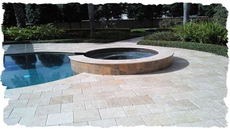 12x12 pool deck plans 12x12 ivory chiselec travertine pool deck booths