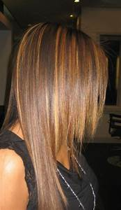 DIY ombre highlights dark brown hair dye for straight hair ...