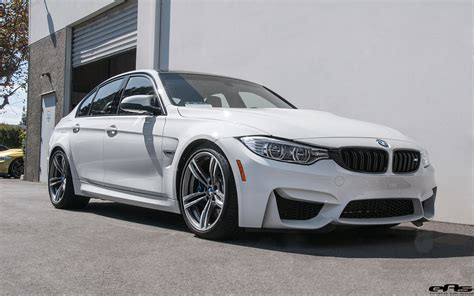 Alpine White Bmw M3 Gets Subtly Modified