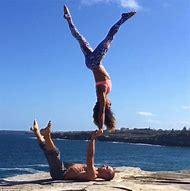 Couple Yoga Challenge Poses