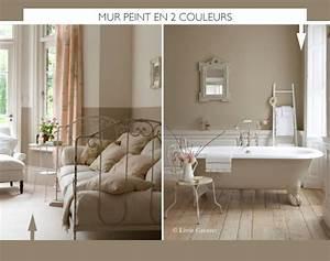Peindre le mur en 2 couleurs for Lovely peindre salon 2 couleurs 1 peindre le mur en 2 couleurs