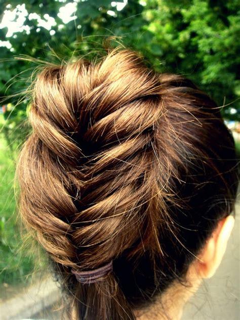 Fishtail Braid Medium Length Hair