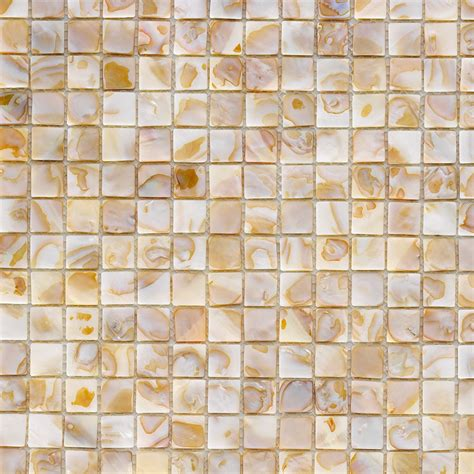 Perlmutt Mosaik Shell Bunt 30x30cm Mosaik