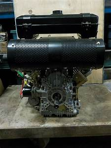 Diesel Engine 25 Hp V Twin Brand New Air Cooled With