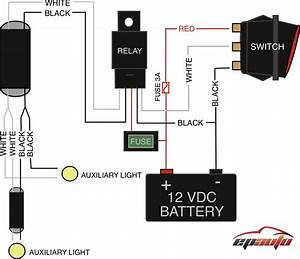 Led Light Bar Wiring Harness Diagram