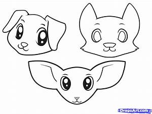 How to Draw Dogs for Kids, Step by Step, Animals For Kids ...