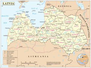Ģeogrāfiskā karte - Latvija - 3,038 x 2,258 Pikselis - 1 ...