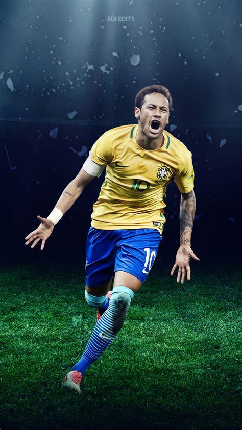 neymar jr brazil lockscreen wallpaper hd  adi