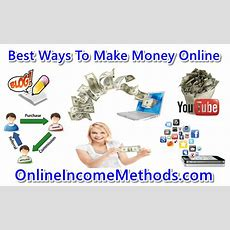 Top 10 Ways To Make Money Online From Internet In 2019