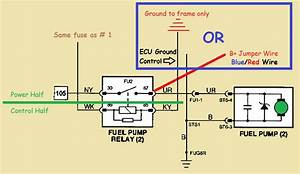 Which Pins To Manually Trigger Or Jump Fuel Pump Relay