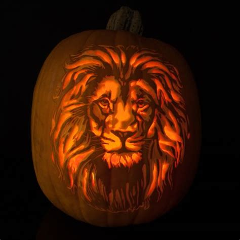 Lion Pumpkin In 2019 Amazing Pumpkin Carving Halloween