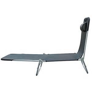 Chaise Longue Pliante Carrefour by Homcom Chaise Longue Pliante Bain De Soleil Inclinable