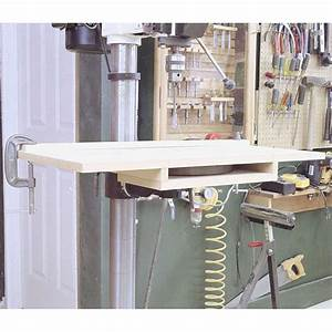 Bolt-On Drill-Press Table Woodworking Plan, Workshop ...