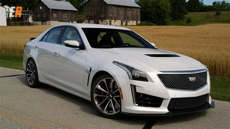cadillac cts   hp road  track review road