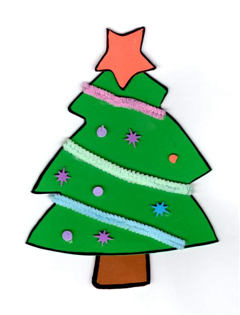 goma eva adorno de navidad arbolitos