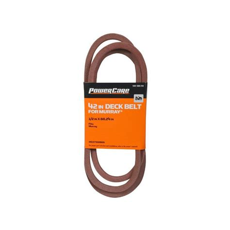 Murray Mower Deck Belt by Murray 42 In Tractor Deck Belt Hd37x88ma The Home Depot