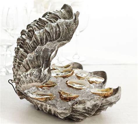 Z Gallerie   Atlantis Clam Shell   Gold