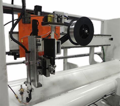 linear seam welder jetline seamer  arc seam welder bancroft