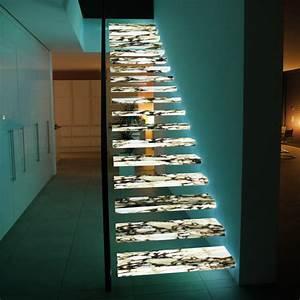 Treppen Aus Glas : treppen von wachenfeld transluzenter naturstein detail magazin f r architektur baudetail ~ Sanjose-hotels-ca.com Haus und Dekorationen
