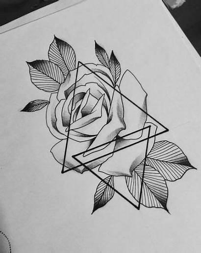 Sketch Pencil Tattoos Flowers Tattoo Rose Drawings