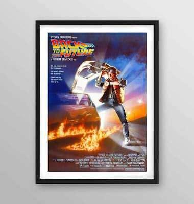poster cornice poster con cornice quot ritorno al futuro quot poster e