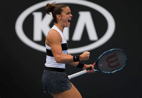 Learn the biography, stats, and games schedule of the tennis player on scores24.live! Maria Sakkari - Australian Open 01/16/2019 • CelebMafia
