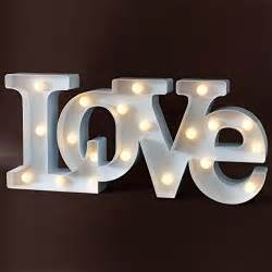 home decor shopswell With decorative lighted letters