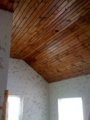 Installing Tongue And Groove Wainscoting by Wood Ceiling 101 How To Install Tongue Groove Paneling