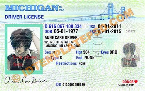 images  novelty psd usa driver license