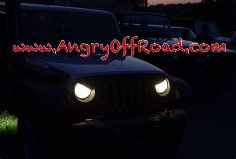 jeep angry headlights angryoffroad jeep wrangler jk tj cj and kj angry eyes