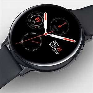 Smart Watch Round Face Health Monitoring And Activity