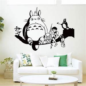 online buy wholesale totoro wall sticker from china totoro With totoro wall decal