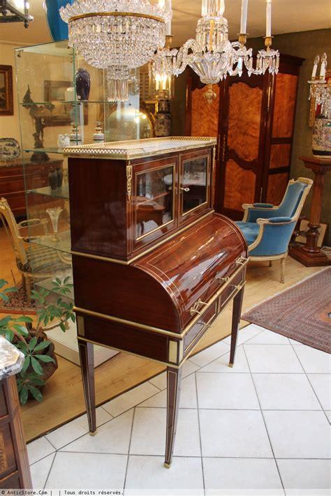 bureau martin d h鑽es bureau à cylindre louis xvi xviiie siècle n 22297