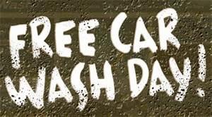 quotfree car washquot font forum dafontcom With car wash fonts