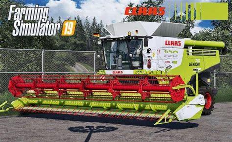 Fs19 Claas Lexion 700 Series Full Pack V4 Simulator