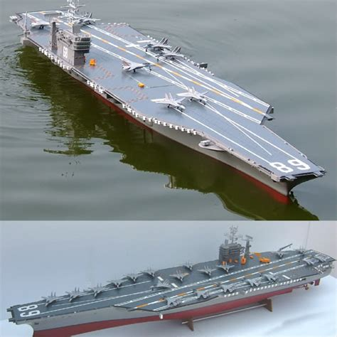 Rc Fishing Boat Australia by Rc Uss Nimitz Aircraft Carrier Ready To Run 68
