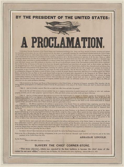 Opinions On Emancipation Proclamation
