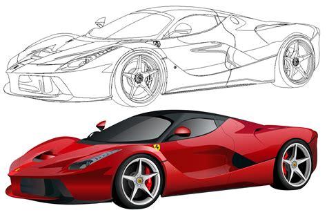 Automotive art art deco architecture automotive art illustrations sale artwork race cars f1 art artem racing art car drawings. Ferrari LaFerrari by 07patrickg on DeviantArt