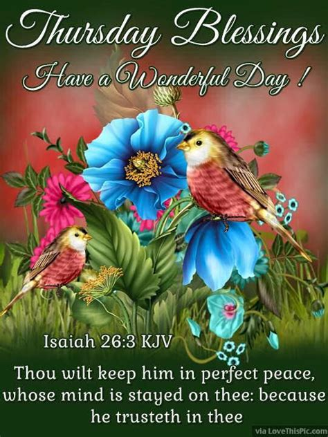 thursday blessings   wonderful day pictures