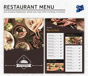 restaurant menu designs menu templates collection of With free restaurant menu templates for mac