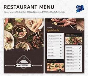 Restaurant menu designs menu templates collection of for Free restaurant menu templates for mac