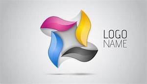 Adobe Illustrator CC | 3D Logo Design Tutorial (Four ...